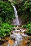 Title: Tirthan waterfall