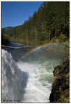 Title: Rainbow on the Lewis River