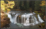 Title: Lower Lewis River falls.