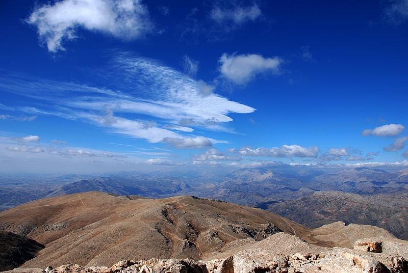 Landscape from Mt. Nemrut