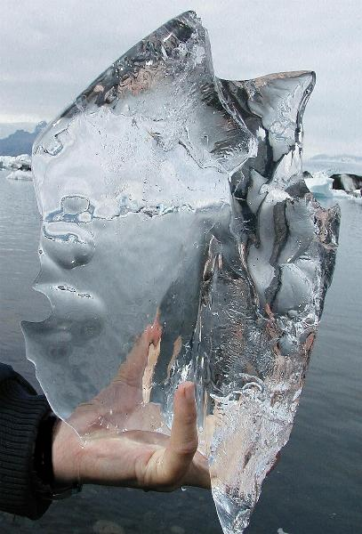 Crystal or ice...?