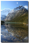 Title: Mount Edith Cavell & Cavell lake