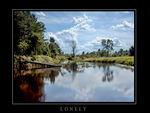 Title: Lonely river