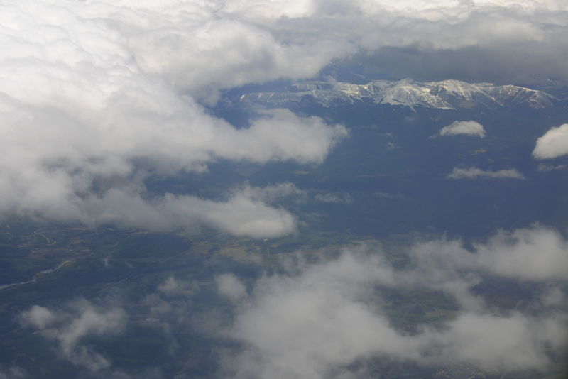 Rocky Mountains from the air - 3