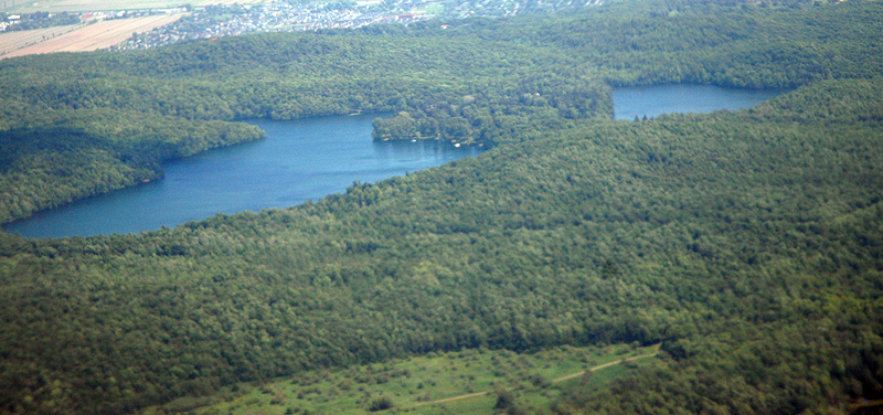 Mont-St-Bruno lakes
