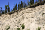 Title: Yukon river - Cliff - 2