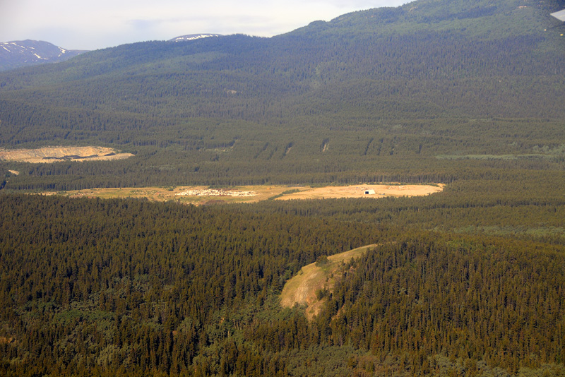 Whitehorse area from the air - 3