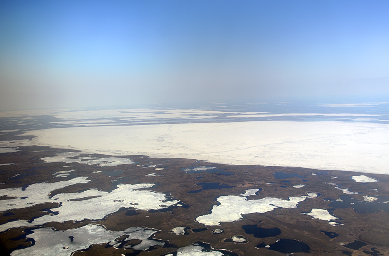 Between Tuktoyaktuk and Inuvik - 1