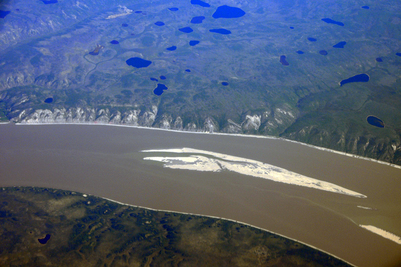 Between Inuvik and Norman Wells - 4