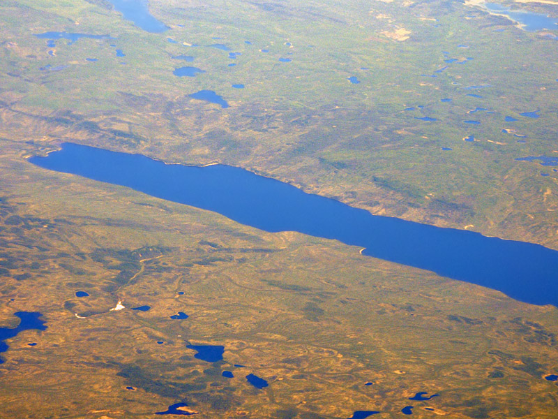 Between Inuvik and Norman Wells - 6