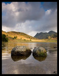 Title: Blea Tarn and the Langdale Pikes