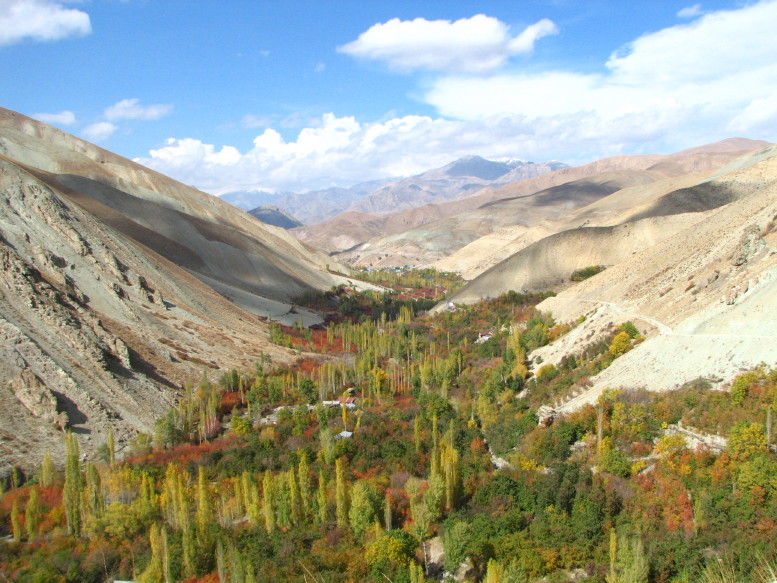 Valley of colours