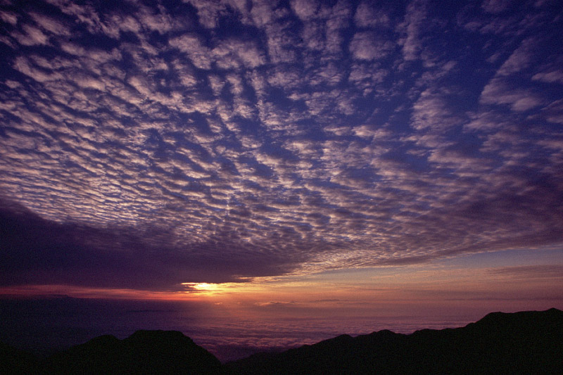 Mackerel Sky and Sea of Clouds