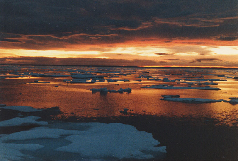 Hudson Strait at dawn