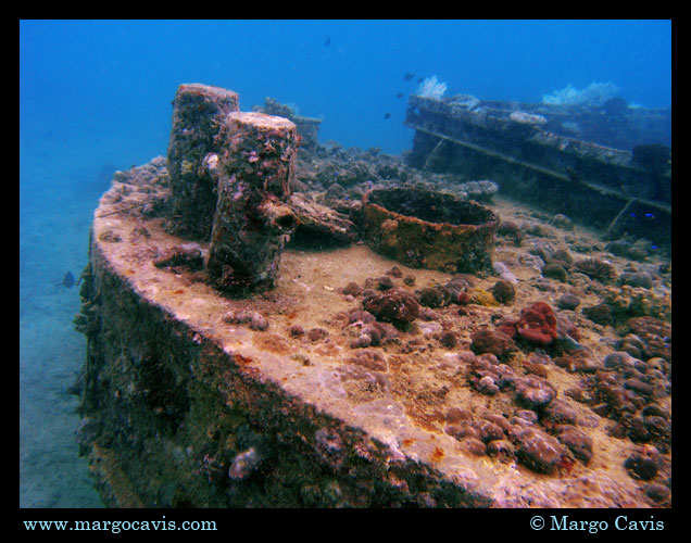 Ship Wreck in Seychelles