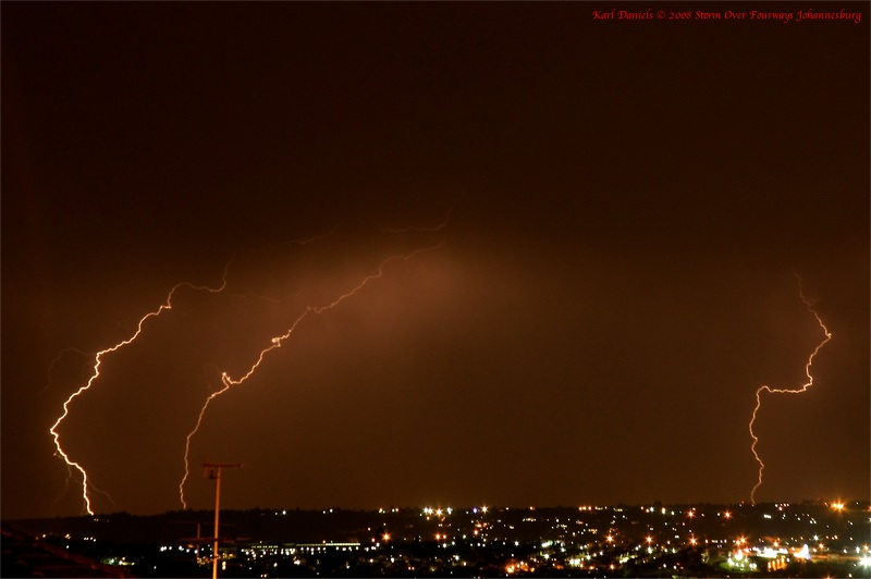 Storm Over Fourawys JHB