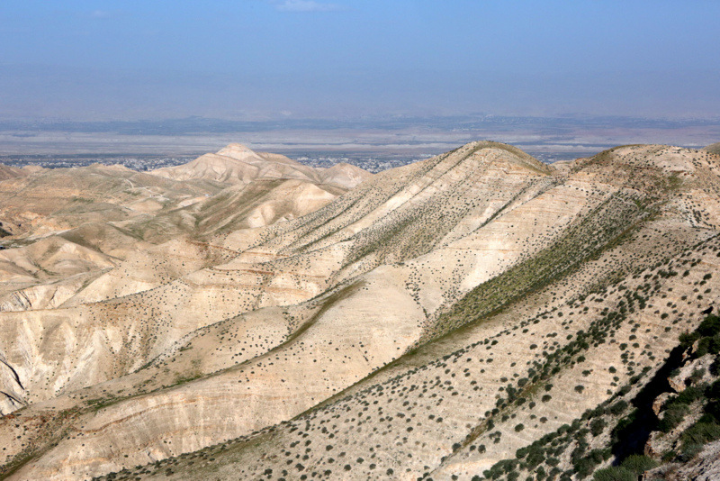 Desert region of Israel