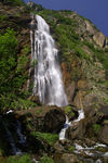 Title: Pissevache waterfall
