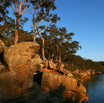Title: Georges River Sunset