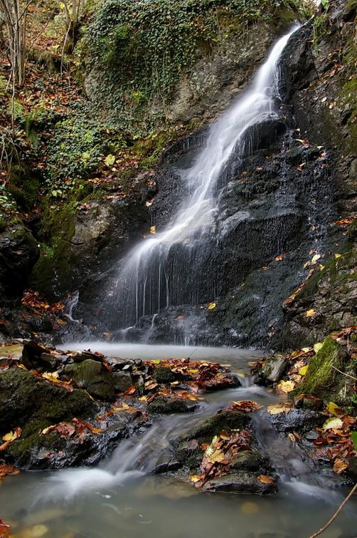unknown waterfall