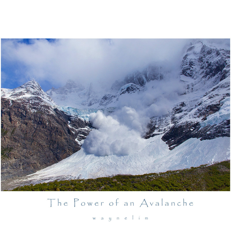 Power of an Avalanche
