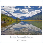 Title: Icefield Parkway Reflection