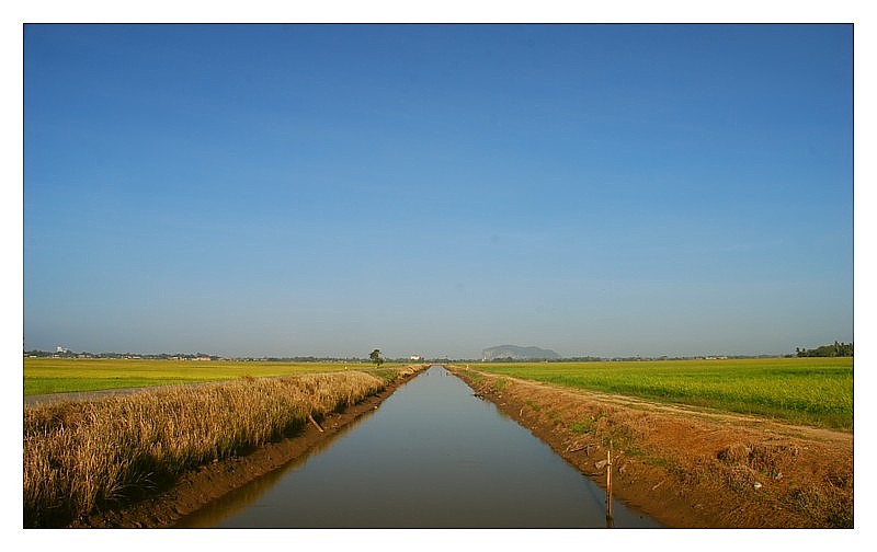 Water Canal for Kedah Padi Fields
