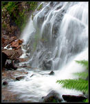 Title: Waterfall view