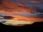 Title: Sunset in Lesotho
