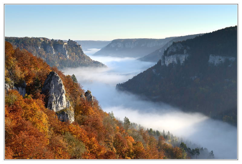 Autumn colours in the Danube Valley