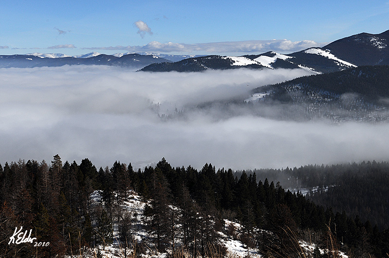 Continental Divide - Above the Fog