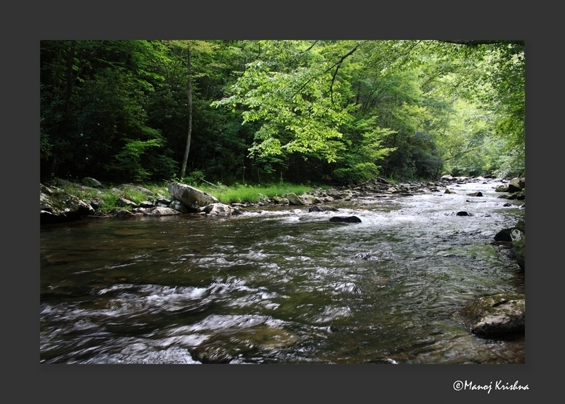 Pigeon Forge river.