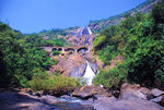 Title: Dhood Sagar Water falls