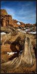 Title: Arches in December