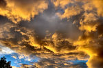 Title: Sky in flames