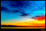 Title: Colorful Horizon