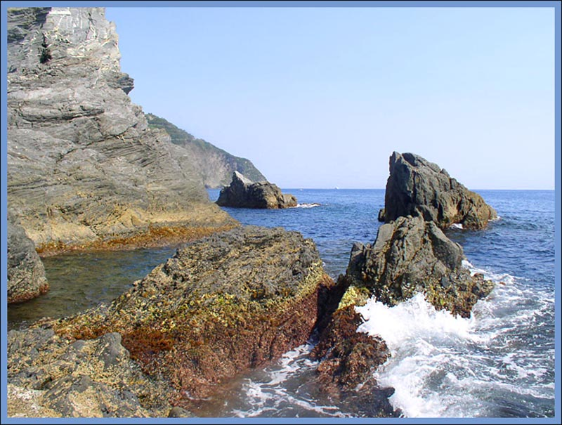 Rocks at Monterosso