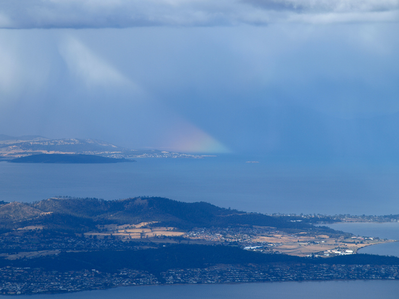 Mt Wellington Rainbow