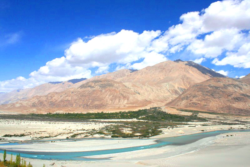 Picturesque Nubra Valley