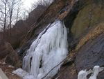 Title: Little Iced Waterfall