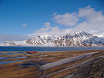 Title: Camping at Spitzbergen