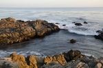 Title: Mailbu Rocks and Waves