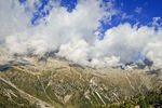 Title: Avalanche or clouds - Italian Alps