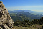 Title: Tatras from Velky Choc (1611m)