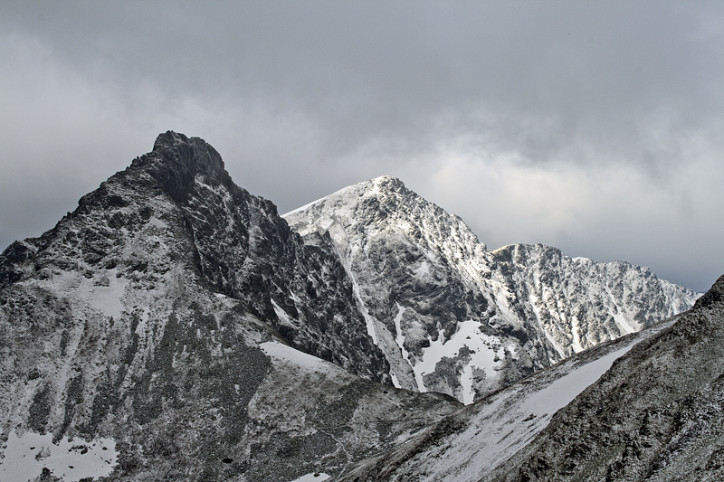 Rohace  (2088 and 2125m) in Slovakia