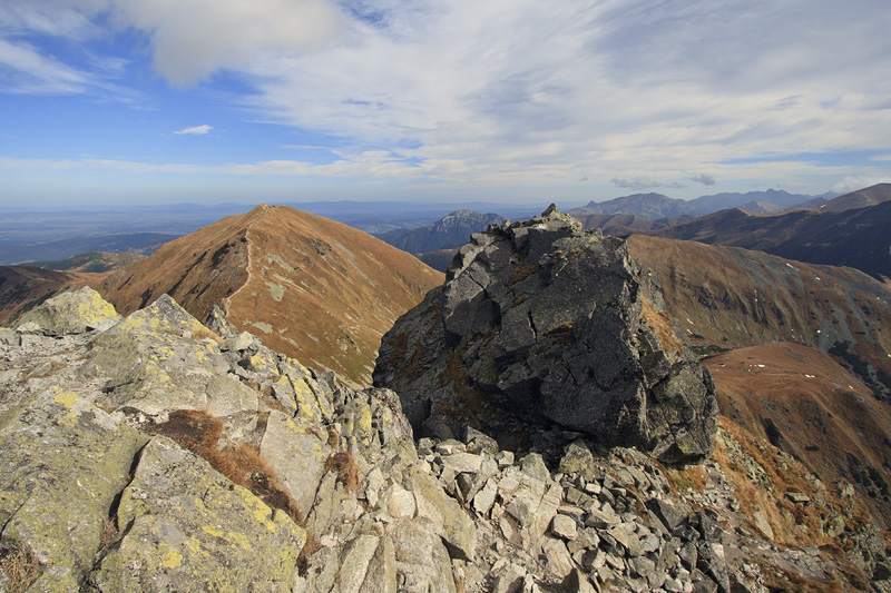 From Ostry Rohac (2088m)