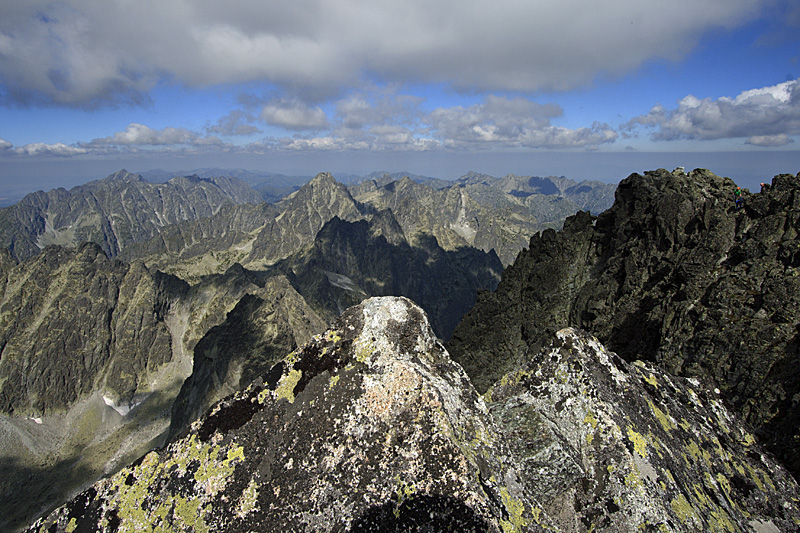 Tatra from highest peak
