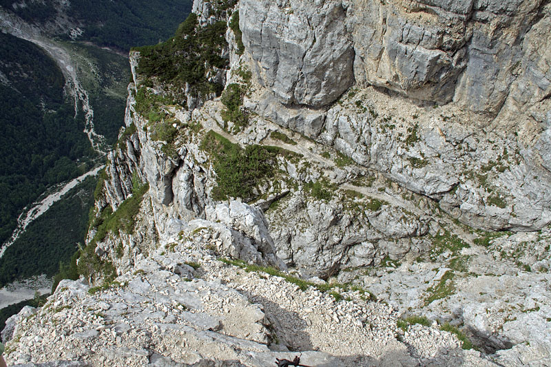 The path in Julian Alps