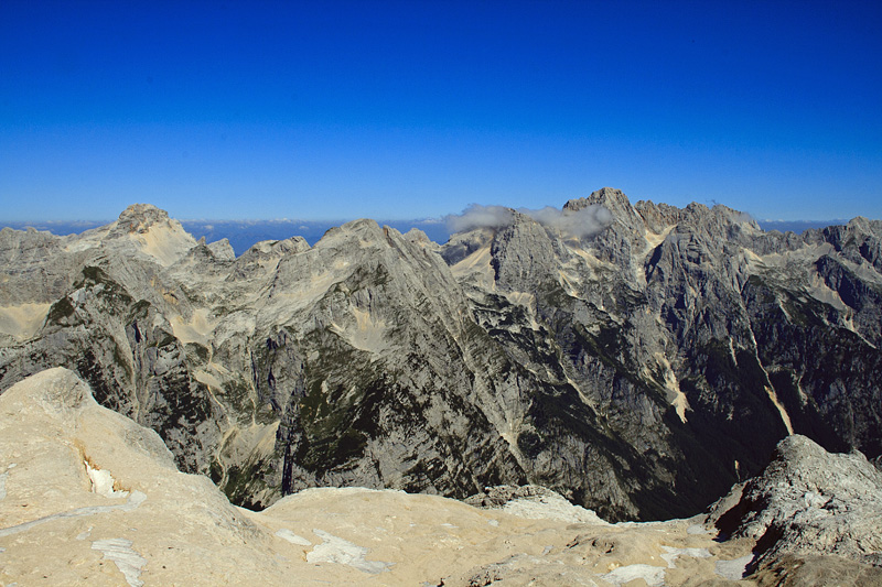 Julian Alps under Triglav