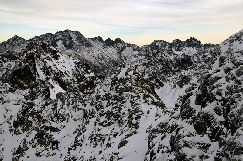 High Tatra from Swinica (2291m)